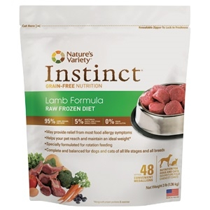 Natures Variety Instinct Raw Frozen Lamb Medallions