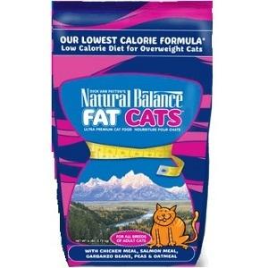 Natural Balance Fat Cats Low Calorie Dry Cat Formula