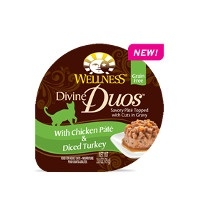 Wellness® Divine Duos™ with Chicken Pate & Diced Turkey