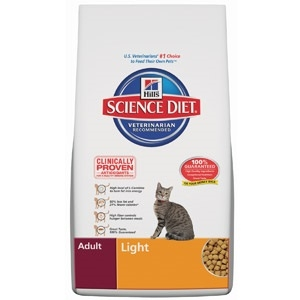 Science Diet Adult Light Cat Food