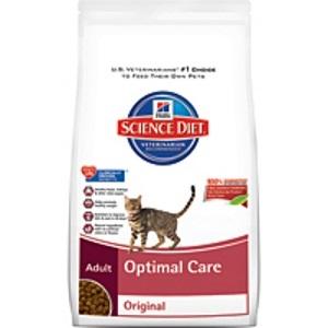 Science Diet Adult Optimal Care Cat Food