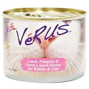 Verus NZ Lamb, Pumkin & Green Lipped Mussel Canned Cat Food