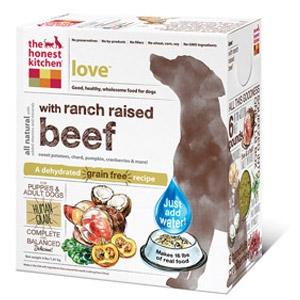 LOVE™ Grain Free Beef Dog Food