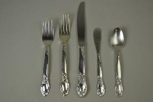 Silverplated Salad Fork