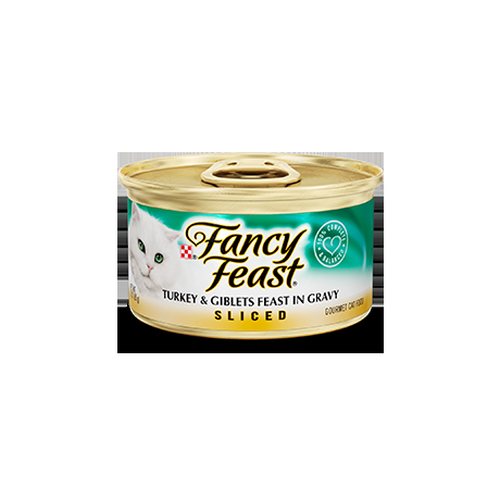 Fancy Feast Turkey & Giblets Feast 24/3oz