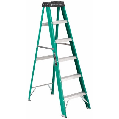 Louisville 6-ft. Commercial Step Ladder