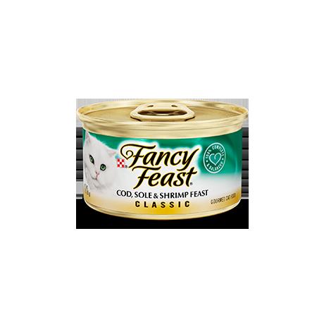 Fancy Feast Cod, Sole, & Shrimp Feast