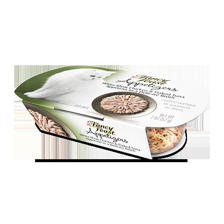 Fancy Feast Appetizers Chicken/Tuna Treat 10/2 oz. Pack