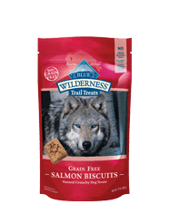 Blue Buffalo Wilderness Salmon Biscuit Dog 10OZ C=6