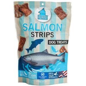 Plato Pet Treats Salmon Strips 16oz