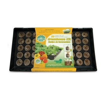 Planters' Pride Plant Starter Tray Greenhouse Kit (50 Cells)
