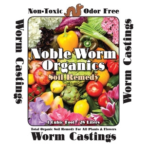Noble Worm Organics Soil Remedy Worm Castings