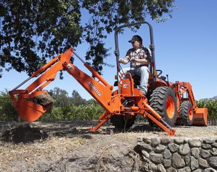 Loader Tractor Back Hoe
