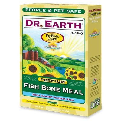 Premium Fish Bone Meal, People & Pet Safe