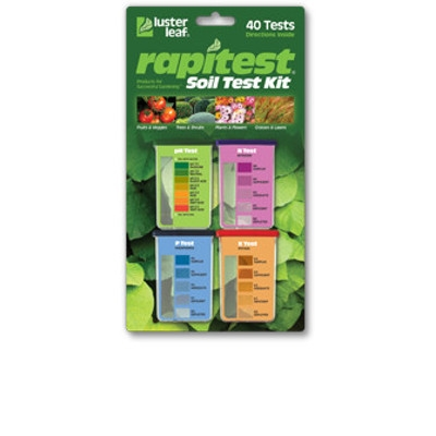 Luster Leaf RapiTest Soil Kit