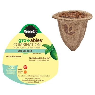 Gro-ables Basil Seed Pod