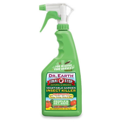 Final Stop Vegetable Garden Insect Killer Spray