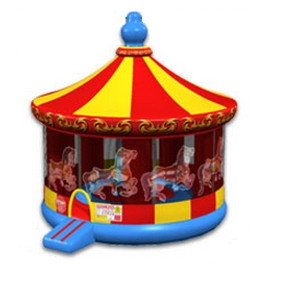 N inflatables Cutting Edge 20' Diameter Carousel Bouncer Inflatable