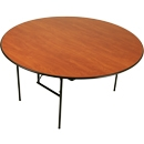 Palmer Snyder 60'' round plywood table
