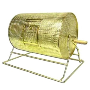 American Gaming Supply, 15x21 Large Brass Plated Raffle Drum