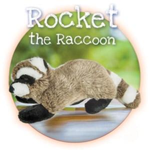 Fluff & Tuff® Rocket the Raccoon Large Dog Toy