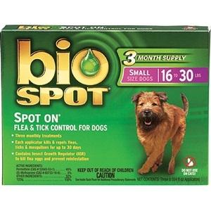 BIO SPOT SPOT-ON 16-30 POUND