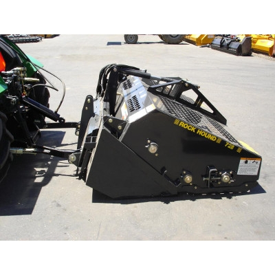rockhound landscape rake skid loader attachment grand rental