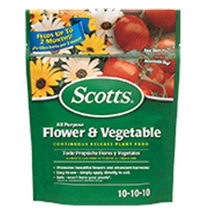 Scotts All Purpose Flower & Vegetable Continuous Release Plant Food