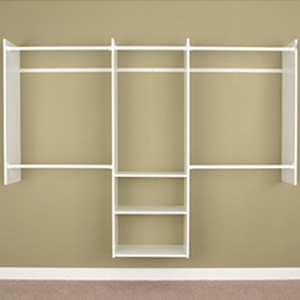 Easy Track 4' to 8' Deluxe Starter Closet