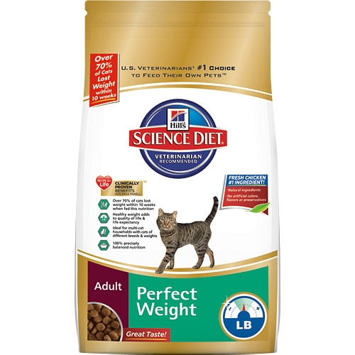 Hill's® Science Diet® Adult Perfect Weight Dry Cat Food