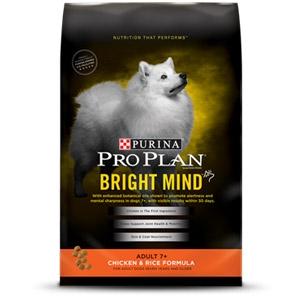 Pro Plan® Bright Mind™ Adult 7+ Chicken & Rice Dog Food 5 Lb. Bag