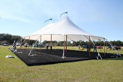 45' x 64' Aurora Sailcloth Tent