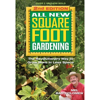 NEW AND UPDATED! All New Square Foot Gardening Book