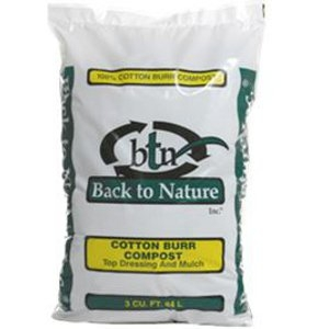 Back to Nature Cotton Burr Compost