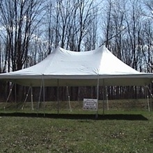 Tent, 20'x30' White Canopy