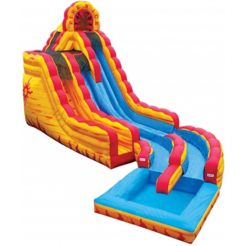 Fire 'N Ice Wet/Dry Slide with Pool