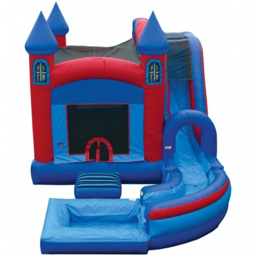 Jump 'N' Splash Castle with Pool