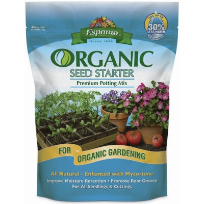 Organic Seed Starter Mix for All Potted Plants