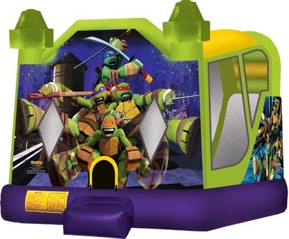 Ninja Turtles Jumpy with Slide