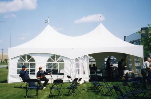 20x30 Peak Marquee Tent