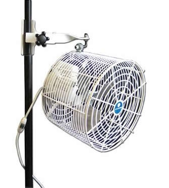 Pole Mounted Tent Fan