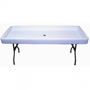 Chiller Table- White