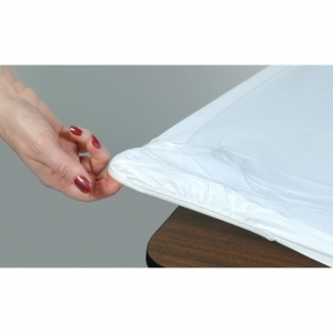 Kwik-Covers  30x96 White Tablecover