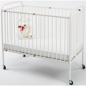 Metal Folding Crib, Portable Size