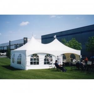 Warner Shelter Peak Marquee Tent 20' X 30'