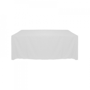 IVORY POLYESTER TABLECLOTH 54X120