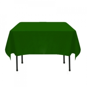 COLOR POLYESTER TABLECLOTH 54X54