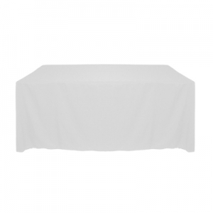WHITE TABLECLOTH 90X156