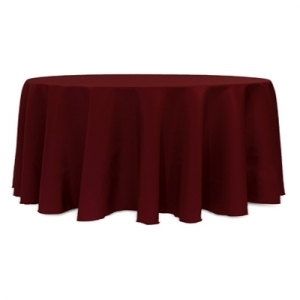 Polyester tablecloth 120 round taylor rental of south for 120 table cloth rental