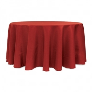 COLOR POLYESTER TABLECLOTH 132